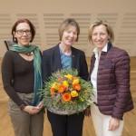von links nach rechts: Mag. Birgit Freidorfer, Prof. Dr. Gertrud Simon, LR a.D. Kristina Edlinger-Ploder